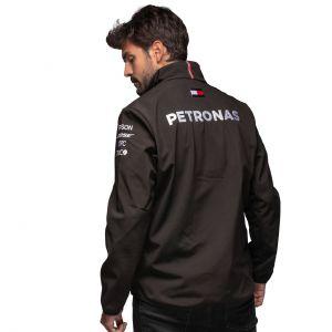 Mercedes-AMG Petronas Team Softshell Jacket black