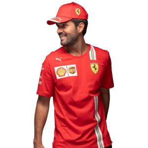 Scuderia Ferrari Men Leclerc T-Shirt red