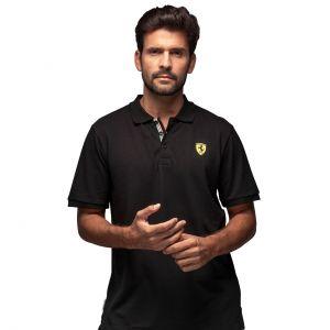 Scuderia Ferrari Classic Poloshirt nera