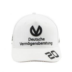 Mick Schumacher Casquette 2020 blanc