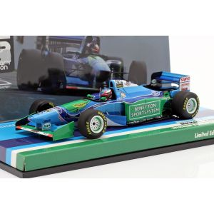 Michael Schumacher Benetton B194 #5 GP d'Europe Champion du monde de F1 1994 1/43