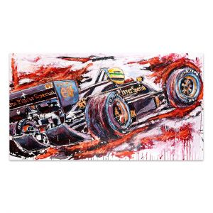Artwork Ayrton Senna Lotus #0003