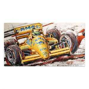 Artwork Ayrton Senna Lotus #0001