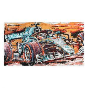 Kunstwerk Lewis Hamilton #0011