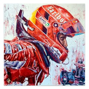 Artwork Michael Schumacher Helmet #0012
