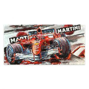 Kunstwerk Michael Schumacher Moncao #0013