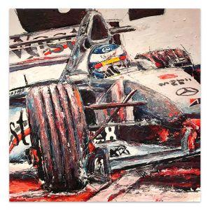 Œuvre d'art Mika Häkkinen I #0014