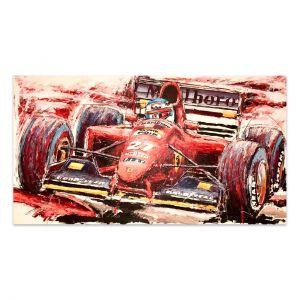 Obra de arte Jean Alesi #0019
