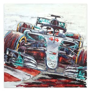 Artwork Lewis Hamilton 2019 #0020