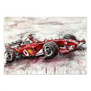 Obra de arte Michael Schumacher Ferrari 2006 #0023