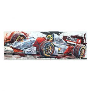 Kunstwerk Ayrton Senna McLaren I #0024