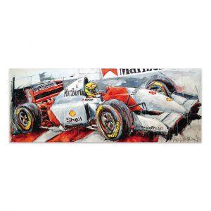 Obra de arte Ayrton Senna McLaren II #0025
