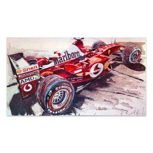 Œuvre d'art Michael Schumacher #0026