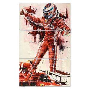 Obra de arte Kimi Räikkönen USA 2018 #0027