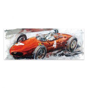 Kunstwerk Phil Hill Longnose Ferrari #0030