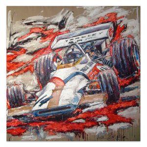 Kunstwerk Pedro Rodriguez BRM #0032