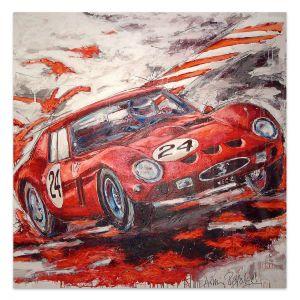 Kunstwerk Ferrari 250 GTO 1961 #0033