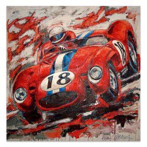 Obra de arte Ferrari Testa Rossa 1956 #0034