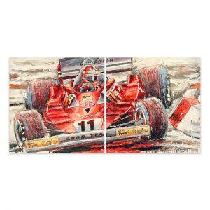 Œuvre d'art Niki Lauda #0036