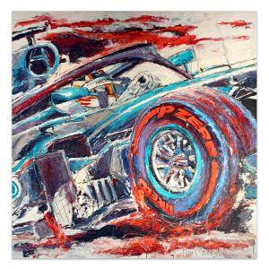 Œuvre d'art Lewis Hamilton 2018 #0037