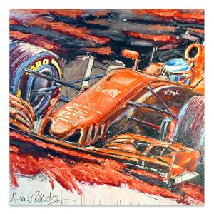 Kunstwerk Fernando Alonso 2017 #0038