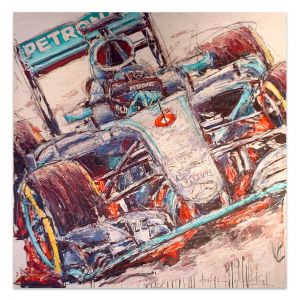 Obra de arte Nico Rosberg 2016 #0039