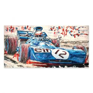 Kunstwerk Jackie Stewart 1971 #0040
