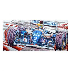 Kunstwerk Ayrton Senna 1994 #0041