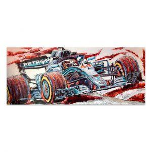 Œuvre d'art Lewis Hamilton 2019 #0042