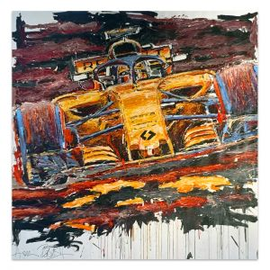 Artwork Carlos Sainz 2018 #0043
