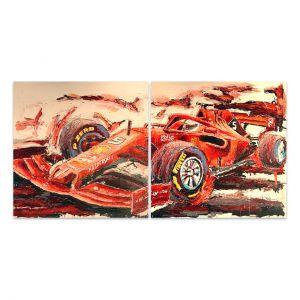Œuvre d'art Sebastian Vettel 2019 #0044