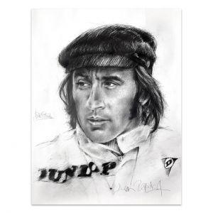 Kunstwerk Sir Jackie Stewart I #0047