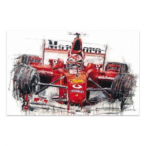 Œuvre d'art Michael Schumacher #0049