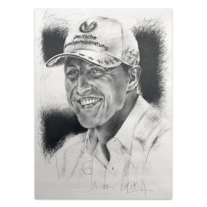 Œuvre d'art Michael Schumacher Portrait #0050