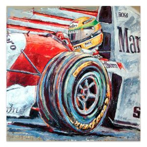 Artwork Ayrton Senna #0051
