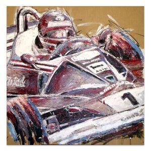 Obra de arte Niki Lauda I #0052