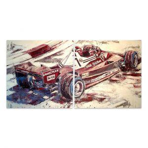 Kunstwerk Niki Lauda II #0053