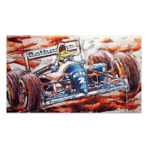 Œuvre d'art Ayrton Senna #0056
