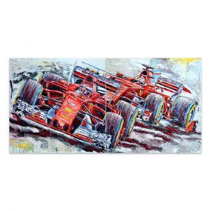 Kunstwerk 2 Ferraris 2018 #0057