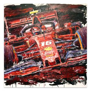 Artwork Charles Leclerc 2019 #0058