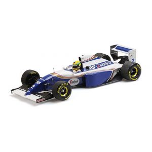 Ayrton Senna Williams Renault FW16 Testfahrt Circuit Paul Ricard 1994 1:18