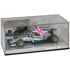Lewis Hamilton Mercedes-AMG F1 W05 Ganador Abu Dhabi GP, Campeón Mundial 2014 1/43