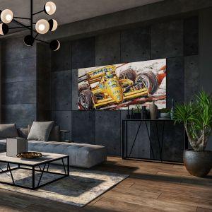 Œuvre d'art Ayrton Senna Lotus #0001
