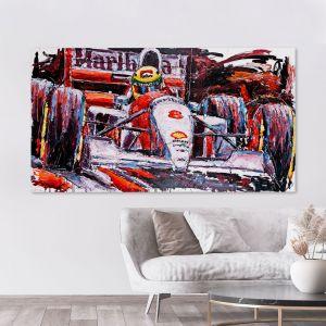 Œuvre d'art Ayrton Senna McLaren #0004