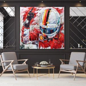 Artwork Sebastian Vettel Helmet #0007