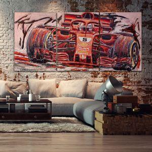 Kunstwerk Sebastian Vettel 2019 #0008