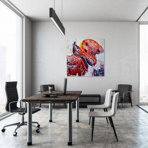 Kunstwerk Michael Schumacher Helm #0012