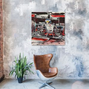 Obra de arte Mika Häkkinen II #0015