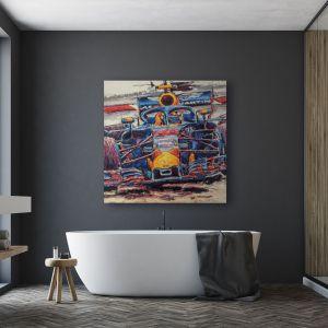 Obra de arte Max Verstappen I #0016