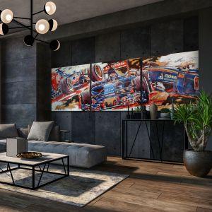 Kunstwerk Toro Rosso #0018